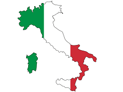 Map of Italy - Fred the Oyster pod CC