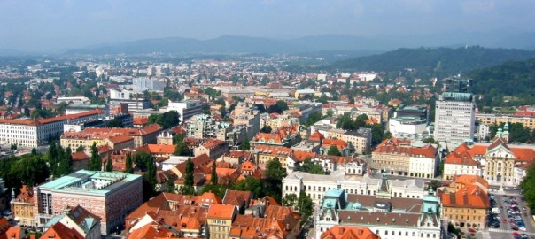 Lublaň z hradu  - Andrejj pod CC