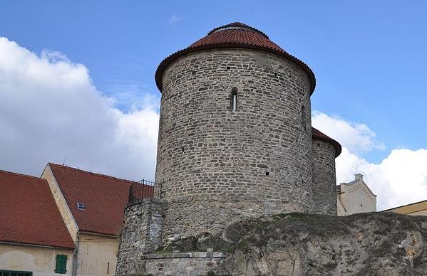Rotunda sv. Kateřiny - Ben Skála - commons.wikimedia.org